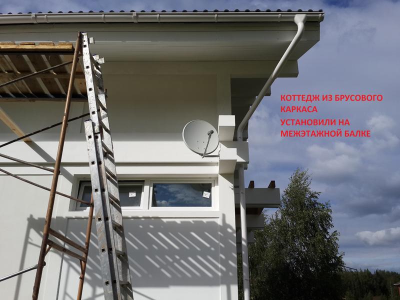 Установка антенны нтв своими руками